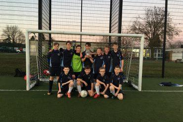 John Flamsteed clinch Y7 Football title!