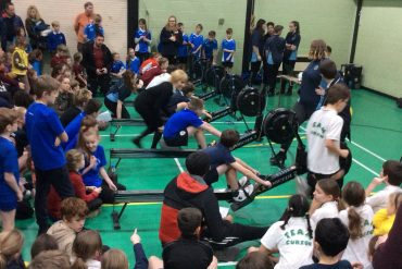 Fantastic atmosphere at first ever AVSSP Rowing event!