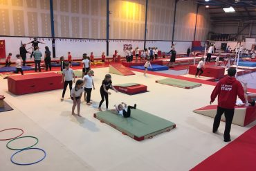 AVSSP & Amber Valley Gymnastics Academy team up for Primary Gymnastics Festival!